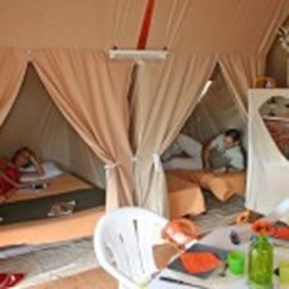 Camping Municipal du Kerver Camping-du-Kerver-Chambre-bungatoile-Saint-Gildas-de-Rhuys-Morbihan-Bretagne Sud