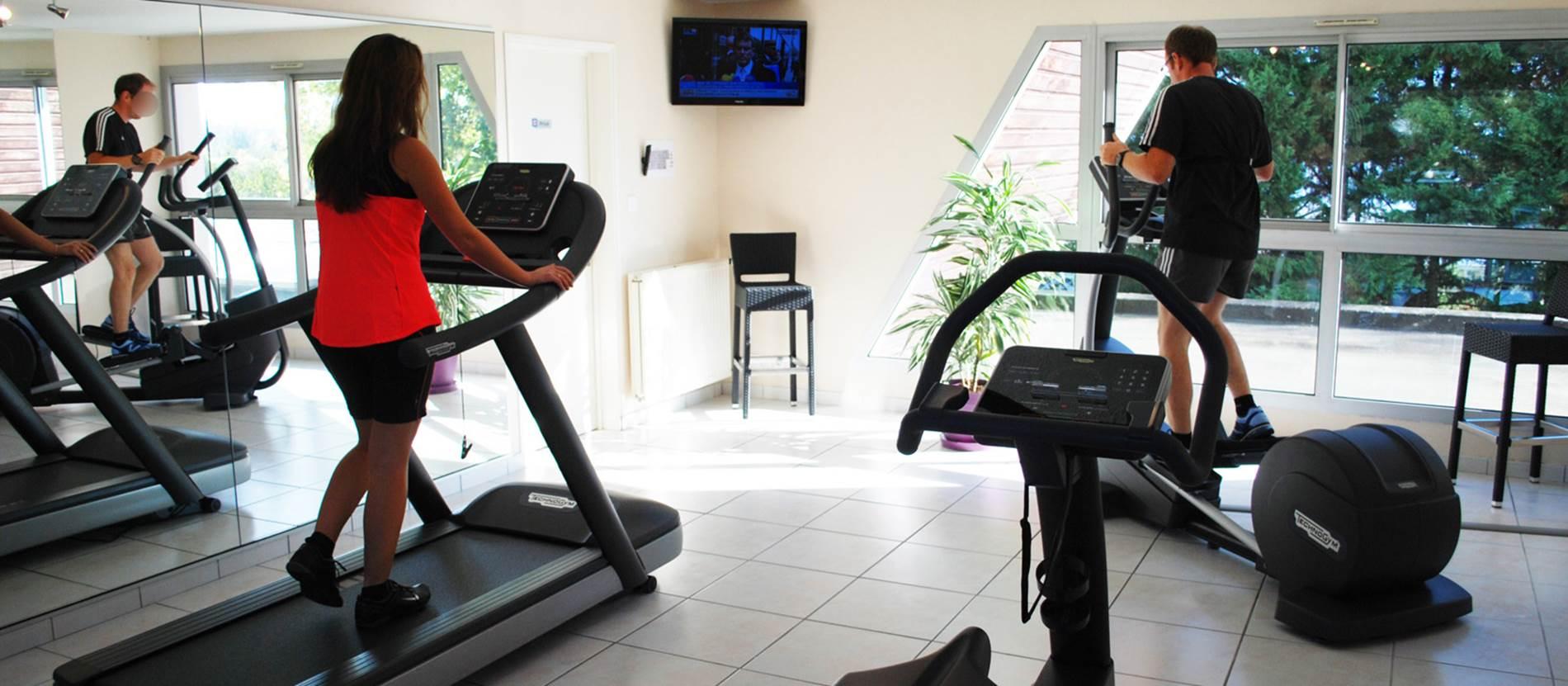 Salle de fitness - accès gratuit © Hotel-Restaurant-Mercure-Le-Port-Vannes
