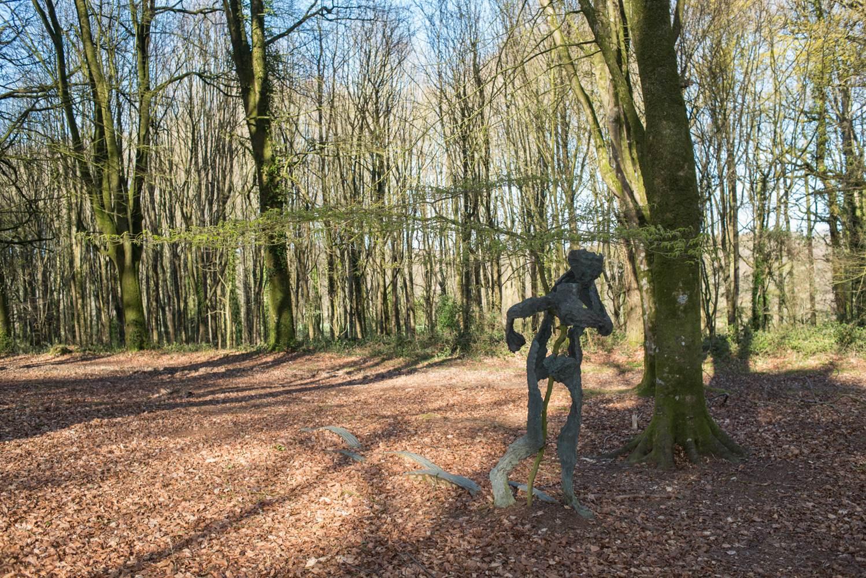 Parc - sculpture - Morbihan - Bretagne ©