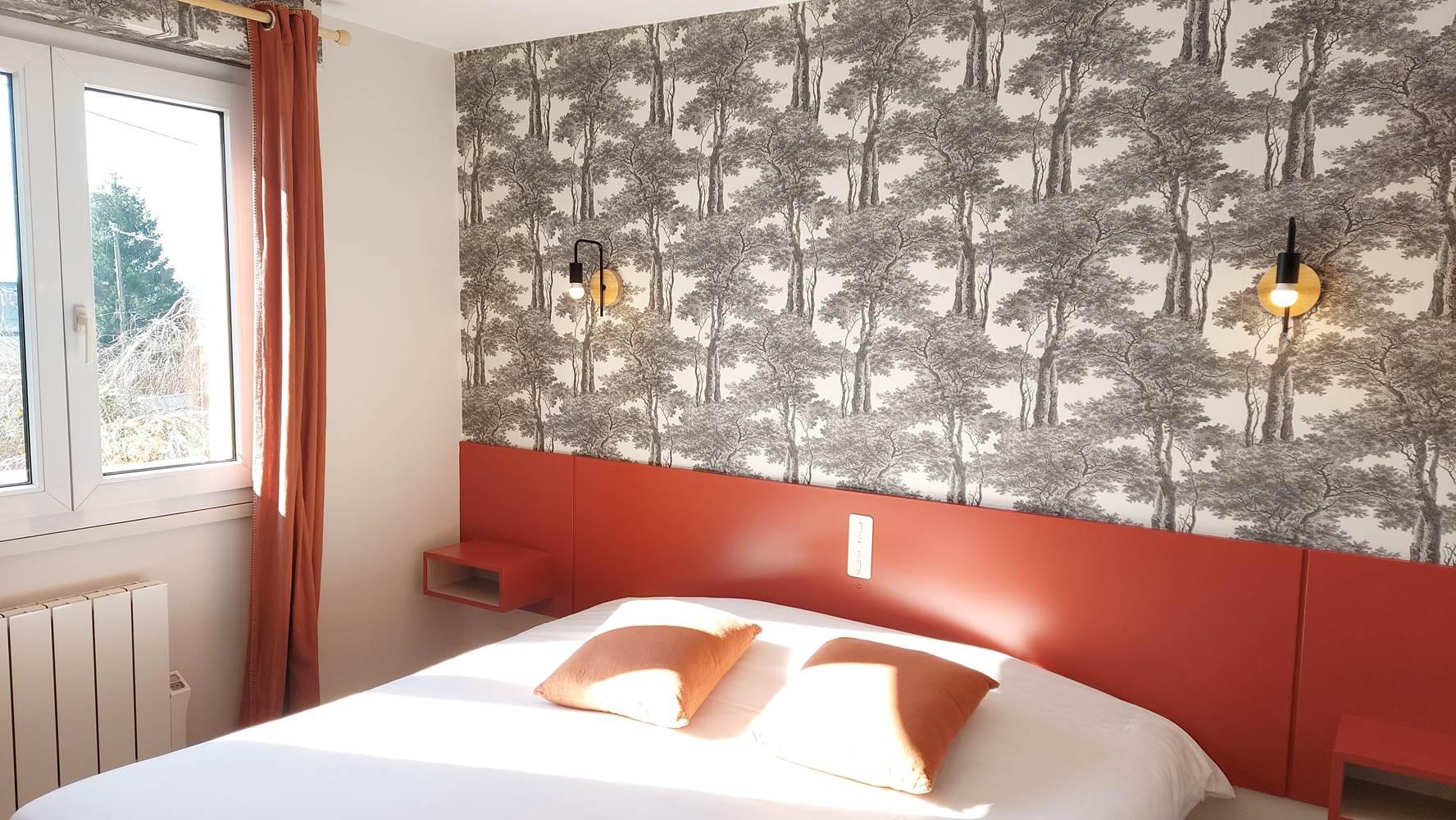 Chambre 2 - Double confort ou avec lits jumeaux ©