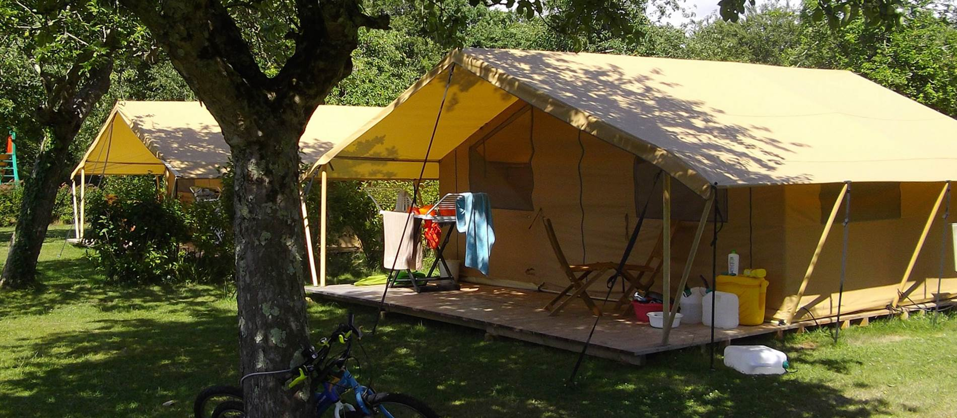 Camping-de-l-Allee-Arradon-Morbihan-Bretagne-Sud © Camping-de-l-Allee-Arradon