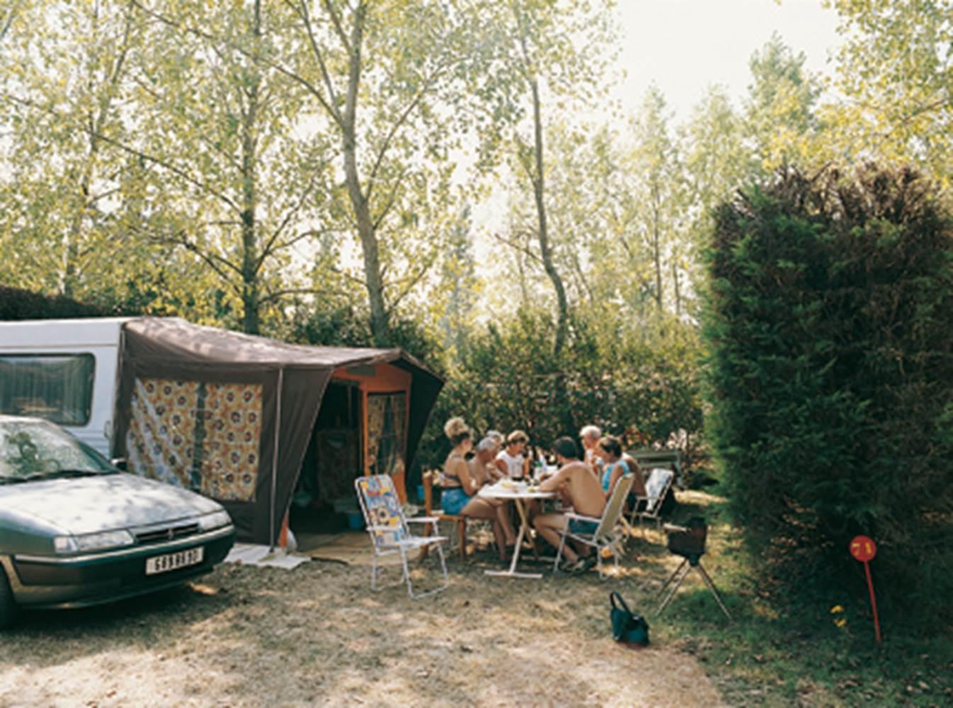 Camping-Le-Cadran-Solaire-Vue-Aérienne-Le-Tour-du-Parc-Presqu'île-de-Rhuys-Golfe-du-Morbihan-Bretagne sud © Le Cadran Solaire