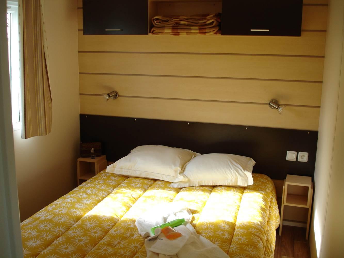 Camping-Les-Druides-chambre parent n°2-Carnac-Morbihan-Bretagne-Sud ©