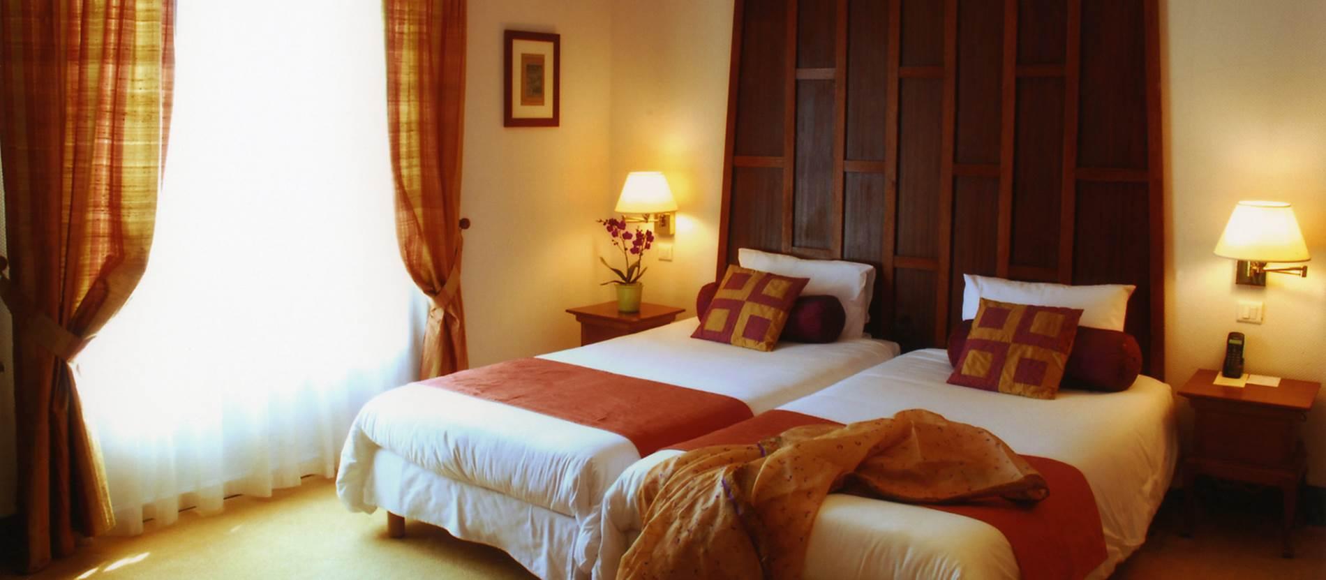 chambre Deluxe 25m2 jardin © Hotel Villa Kerasy Hotel Spa -Vannes