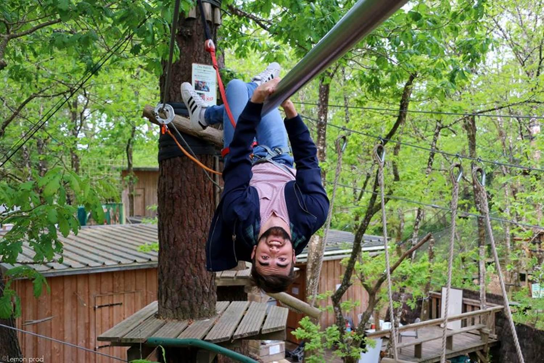 Parc Aventure FORET ADRENALINE - Carnac - Adulte ( 14ans et plus) ©