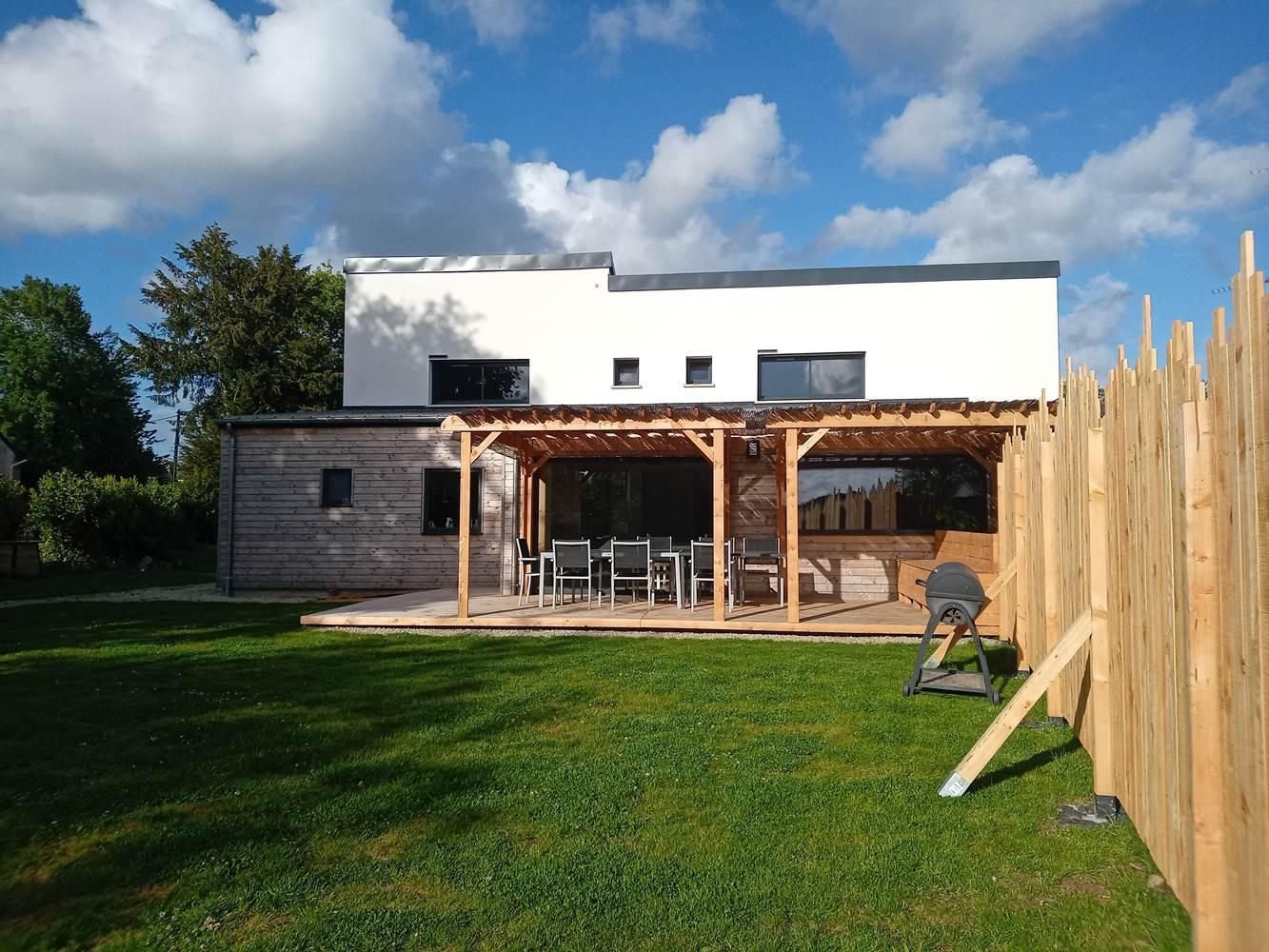 Le Répit de l'Oust - Jardin & Terrasse exposés Ouest ©