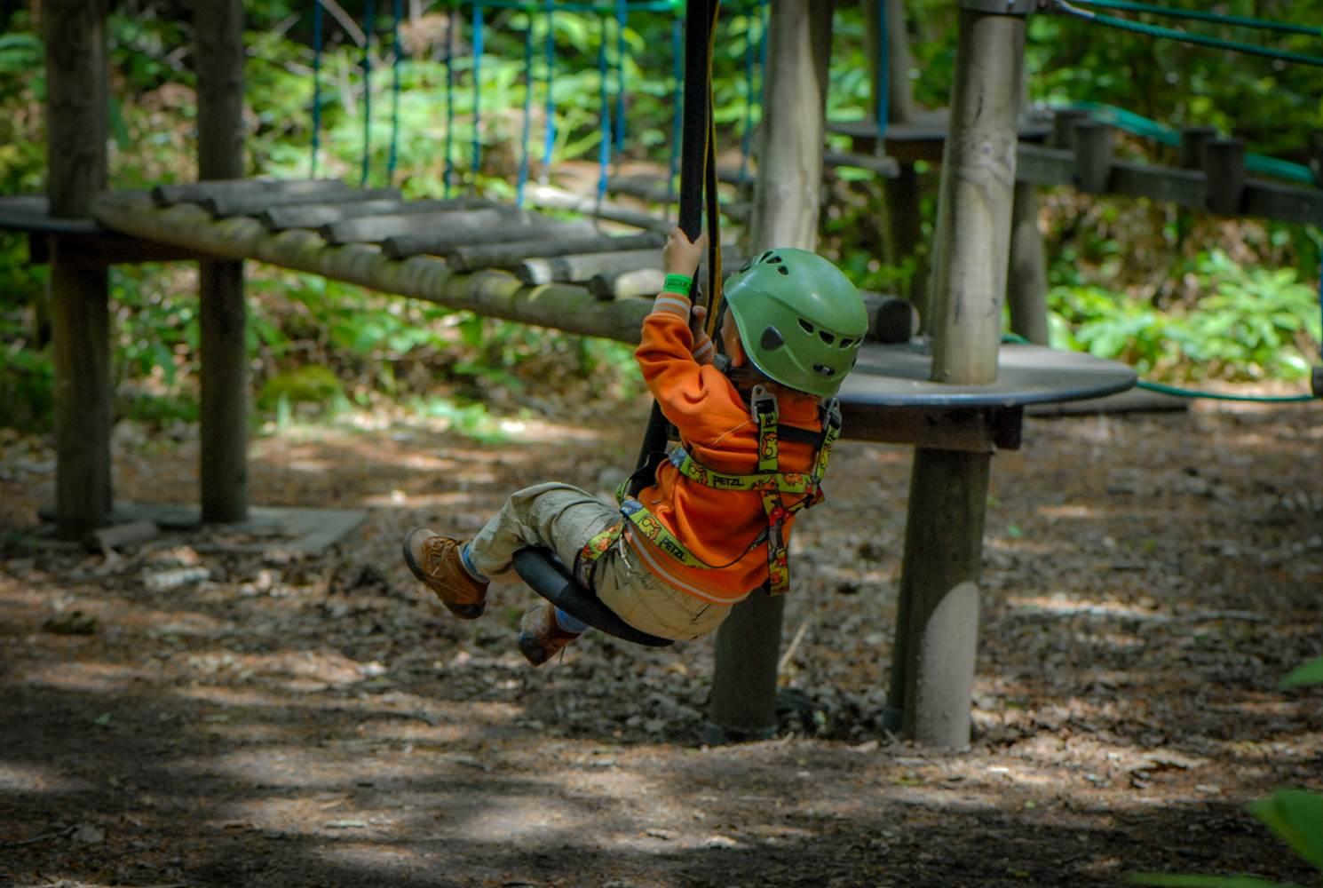 Parc Aventure FORET ADRENALINE - Carnac - Pitchoun (2-3ans) ©