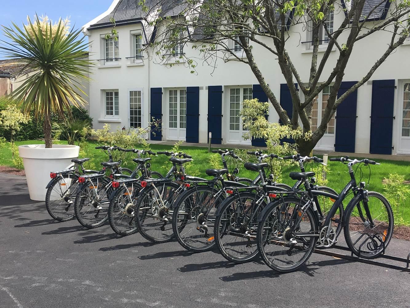 prêt vélo gratuit la marébaudière Vannes ©