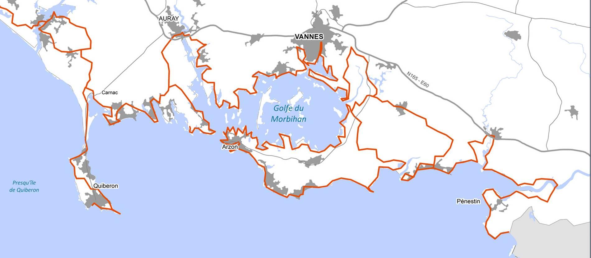 Le Tour Du Golfe Du Morbihan à Pied Vannes