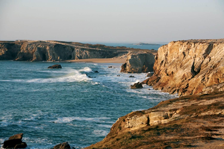 cote sauvage port blanc Quiberon Morbihan Bretagne Sud © christine bouché