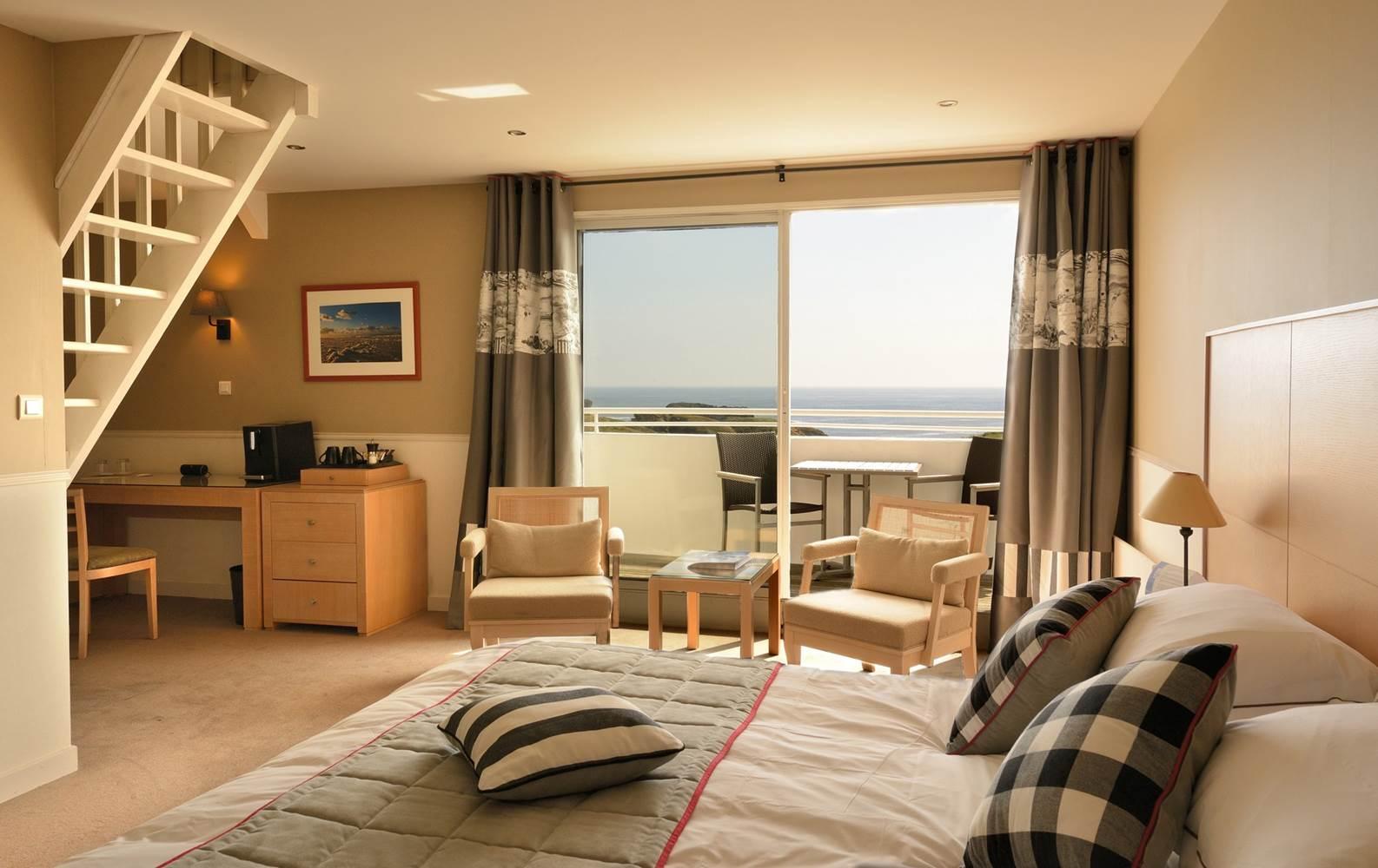 Hotel castel clara - suite - Belle ile en mer Morbihan bretagne sud ©