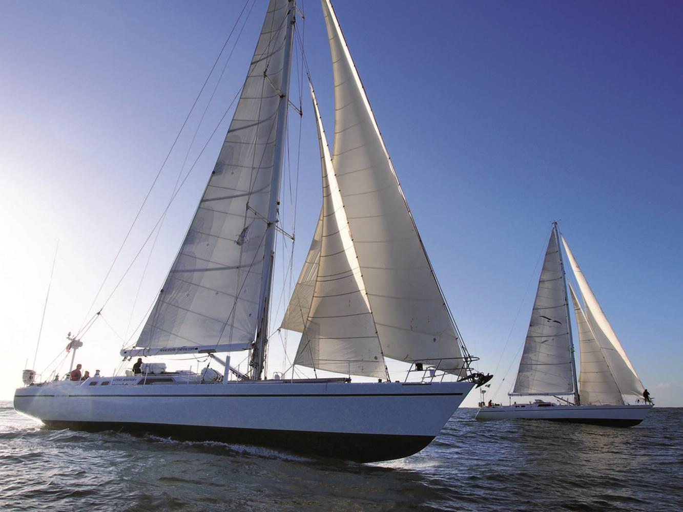 Albatros et Whirlwind, monocoques de 21m avec équipage © CHALLENGE OCEAN