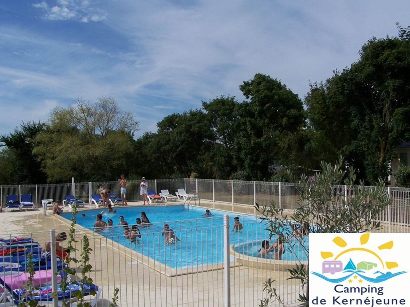 piscine-camping-morbihan-arzal ©