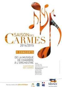 Les Concertantes de Mozart - la saison des Carmes