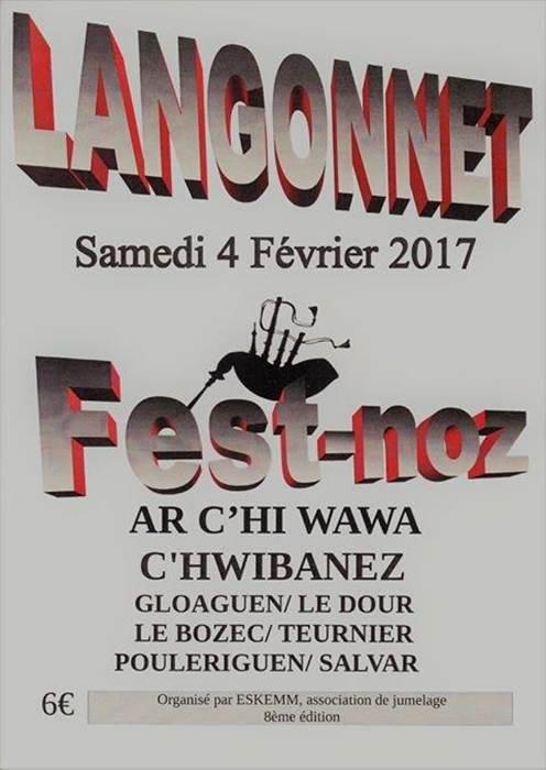 Fest-noz à Langonnet