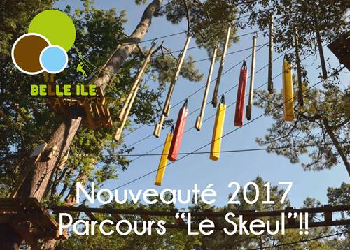 Parc Aventure dans les arbres : Belle Ile Aventure