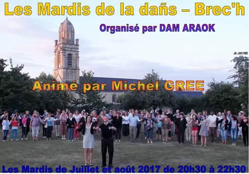 Les Mardis de la Dañs à Brec'h