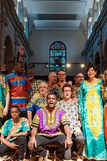 Muna Wase chante Gospel Africa