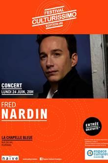 Festival Culturissimo / le pianiste Fred Nardin en concert gratuit à Ploërmel