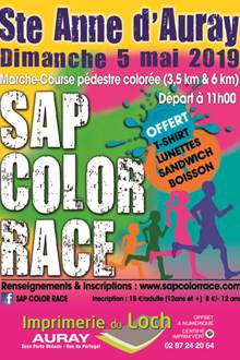 SAP Color Race (course festive et colorée)
