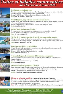 Jeux, visites et balades découvertes sur la Presqu'île de Quiberon