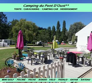 Camping du Pont d'Oust