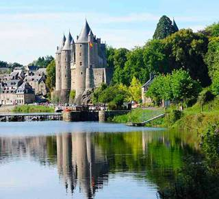 Vue sur le Château de Josselin