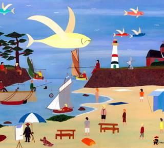 Atelier-expo Youn Braz, peintre Naïf