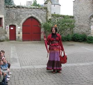 Visite de Josselin avec Madame Pourquoi Comment
