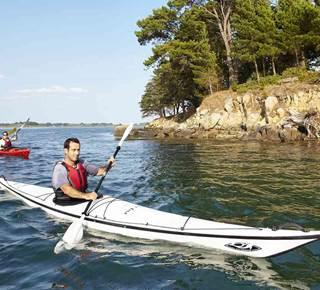 Balade nature et patrimoine en kayak de mer