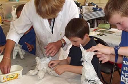 Le club des petits découvreurs (7-12 ans): Décor en mosaïque