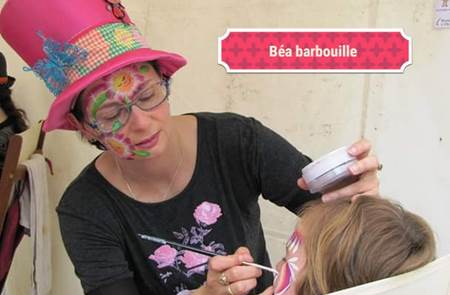 Maquillage de printemps à la Ferme du Monde