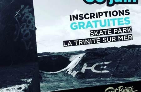 Concours de skateboard