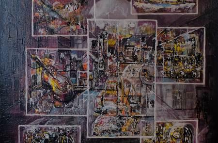 Exposition Patrice Défossé - Peintre, à la Criée de Port Navalo