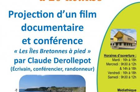 Projection d'un film documentaire