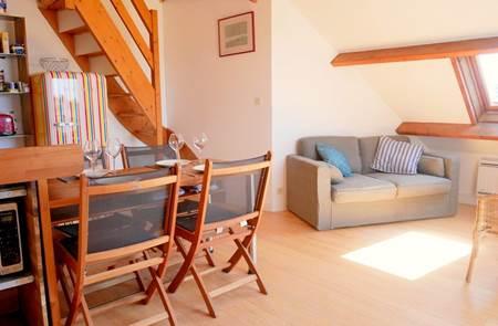 Carnac - appartement 3 pièces duplex - 35m²