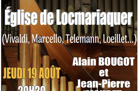 Concert Flute et Orgue (Locmariaquer)
