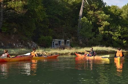 Balade nautique kayak, les moulins à marée