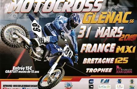 Moto Cross à Glénac