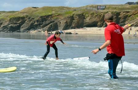 Ecole de Surf - ESB Fort-Bloqué